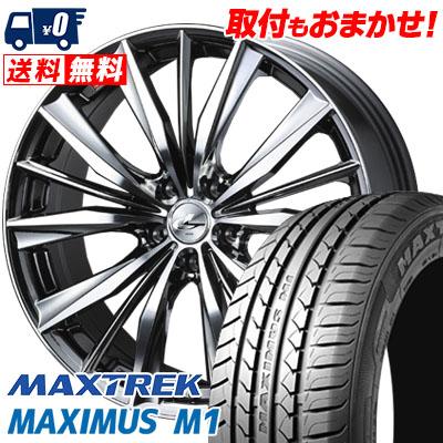 絶妙なデザイン 245/35R19 93W XL MAXTREK マックストレック MAXIMUS M1 マキシマス エムワン weds LEONIS VX ウエッズ レオニス VX サマータイヤホイール4本セット, 雑誌で紹介された c69db06d