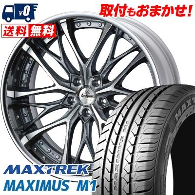245/35R19 93W XL MAXTREK マックストレック MAXIMUS M1 マキシマス エムワン weds Kranze Weaval ウェッズ クレンツェ ウィーバル サマータイヤホイール4本セット