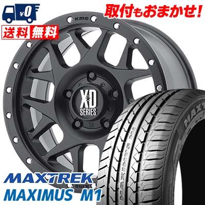 195/60R16 89H MAXTREK マックストレック MAXIMUS M1 マキシマス エムワン KMC XD127 BULLY KMC XD127 ブリー サマータイヤホイール4本セット