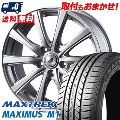 225/60R17 99V MAXTREK マックストレック MAXIMUS M1 マキシマス エムワン AZ sports YL-10 AZスポーツ YL-10 サマータイヤホイール4本セット