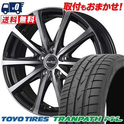 205/60R16 TOYO TIRES トーヨー タイヤ TRANPATH ML トランパスML EuroSpeed V25 ユーロスピード V25 サマータイヤホイール4本セット