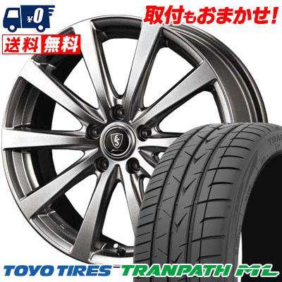 195/65R15 91H TOYO TIRES トーヨー タイヤ TRANPATH ML トランパスML Euro Speed G10 ユーロスピード G10 サマータイヤホイール4本セット【取付対象】