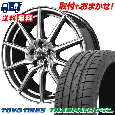 205/65R16 95H TOYO TIRES トーヨー タイヤ TRANPATH ML トランパスML EuroSpeed G810 ユーロスピード G810 サマータイヤホイール4本セット