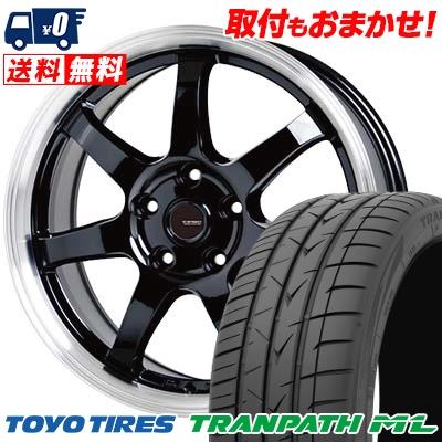215/60R17 96H TOYO TIRES トーヨー タイヤ TRANPATH ML トランパスML G.speed P-03 ジースピード P-03 サマータイヤホイール4本セット