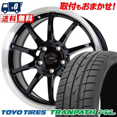 215/60R17 96H TOYO TIRES トーヨー タイヤ TRANPATH ML トランパスML G.speed P-04 ジースピード P-04 サマータイヤホイール4本セット