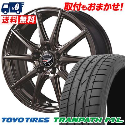 225/50R18 95V TOYO TIRES トーヨー タイヤ TRANPATH ML トランパスML FINALSPEED GR-Volt ファイナルスピード GRボルト サマータイヤホイール4本セット