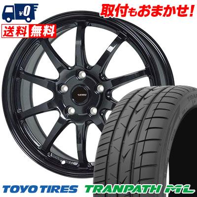 195/65R15 91H TOYO TIRES トーヨー タイヤ TRANPATH ML トランパスML G.speed G-04 Gスピード G-04 サマータイヤホイール4本セット