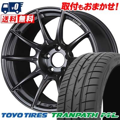 215/60R17 TOYO TIRES トーヨー タイヤ TRANPATH ML トランパスML SSR GT X01 SSR GT X01 サマータイヤホイール4本セット