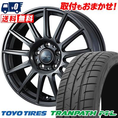 205/50R17 93V XL TOYO TIRES トーヨー タイヤ TRANPATH ML トランパスML VELVA IGOR ヴェルヴァ イゴール サマータイヤホイール4本セット