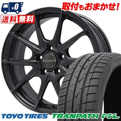 205/50R17 TOYO TIRES トーヨー タイヤ TRANPATH ML トランパスML LeyBahn WGS レイバーン WGS サマータイヤホイール4本セット