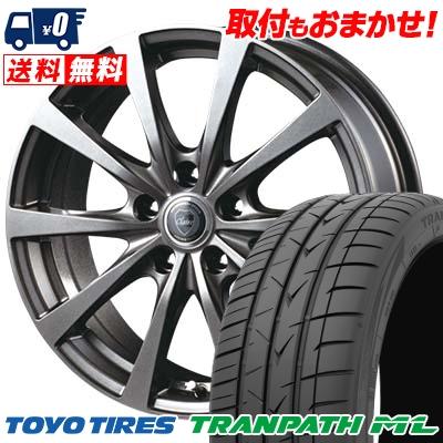 195/65R15 91H TOYO TIRES トーヨー タイヤ TRANPATH ML トランパスML CLAIRE RG10 クレール RG10 サマータイヤホイール4本セット
