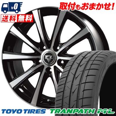 205/60R16 92H TOYO TIRES トーヨー タイヤ TRANPATH ML トランパスML Razee XV レイジー XV サマータイヤホイール4本セット