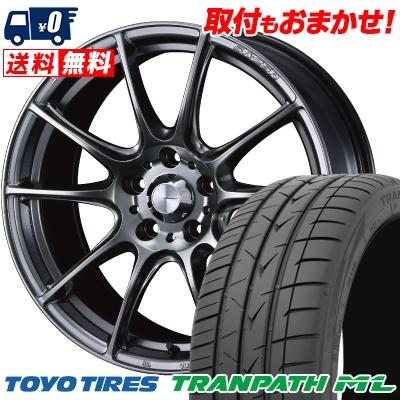 205/55R16 94W TOYO TIRES トーヨー タイヤ TRANPATH ML トランパスML WedsSport SA-25R ウェッズスポーツ SA-25R サマータイヤホイール4本セット