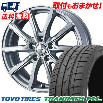 215/60R16 95H TOYO TIRES トーヨー タイヤ TRANPATH ML トランパスML JOKER SHAKE ジョーカー シェイク サマータイヤホイール4本セット