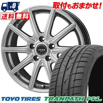 205/60R16 92H TOYO TIRES トーヨー タイヤ TRANPATH ML トランパスML ZACK SPORT-01 ザック シュポルト01 サマータイヤホイール4本セット