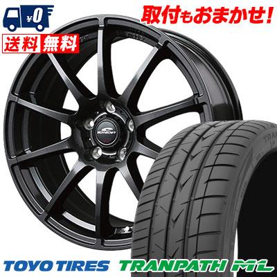 225/50R18 95V TOYO TIRES トーヨー タイヤ TRANPATH ML トランパスML SCHNEDER StaG シュナイダー スタッグ サマータイヤホイール4本セット