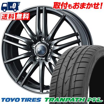 215/60R16 95H TOYO TIRES トーヨー タイヤ TRANPATH ML トランパスML Zamik Tito ザミック ティート サマータイヤホイール4本セット