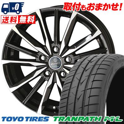 205/65R15 94H TOYO TIRES トーヨー タイヤ TRANPATH ML トランパスML SMACK VALKYRIE スマック ヴァルキリー サマータイヤホイール4本セット