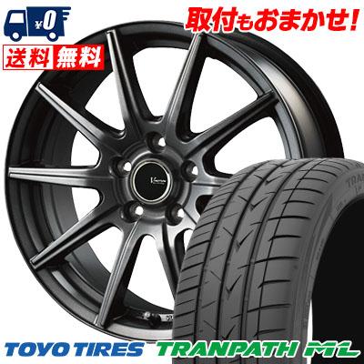 195/60R16 89H TOYO TIRES トーヨー タイヤ TRANPATH ML トランパスML V-EMOTION GS10 Vエモーション GS10 サマータイヤホイール4本セット