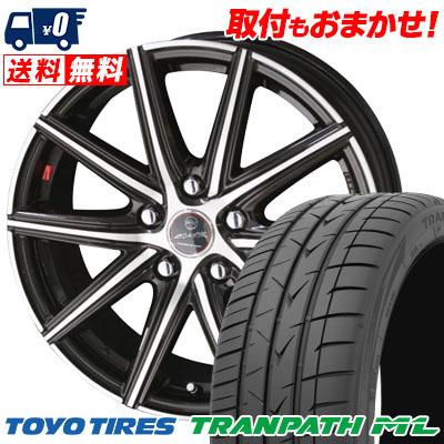 205/60R16 92H TOYO TIRES トーヨー タイヤ TRANPATH ML トランパスML SMACK PRIME SERIES VANISH スマック プライムシリーズ ヴァニッシュ サマータイヤホイール4本セット