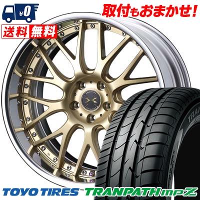 225/50R18 95V TOYO TIRES トーヨー タイヤ TRANPATH mpZ トランパス mpZ weds MAVERICK 709M ウエッズ マーべリック 709M サマータイヤホイール4本セット