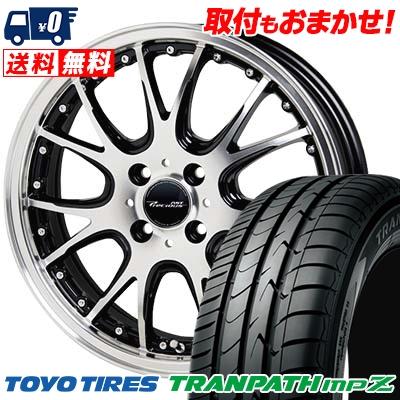 185/55R15 82V TOYO TIRES トーヨー タイヤ TRANPATH mpZ トランパス mpZ Precious AST M2 プレシャス アスト M2 サマータイヤホイール4本セット, LAOX 59688473