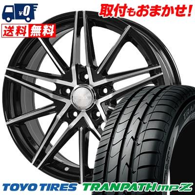 215/60R16 TOYO TIRES トーヨー タイヤ TRANPATH mpZ トランパス mpZ BLONKS TB01 ブロンクス TB01 サマータイヤホイール4本セット