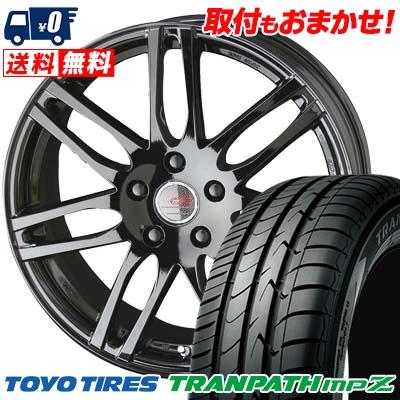 225/55R17 101V TOYO TIRES トーヨー タイヤ TRANPATH mpZ トランパス mpZ ENKEI CREATIVE DIRECTION CDS2 エンケイ クリエイティブ ディレクション CD-S2 サマータイヤホイール4本セット