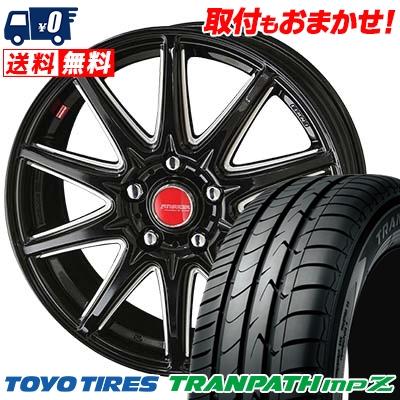 205/55R16 94V TOYO TIRES トーヨー タイヤ TRANPATH mpZ トランパス mpZ RIVAZZA CORSE リヴァッツァ コルセ サマータイヤホイール4本セット