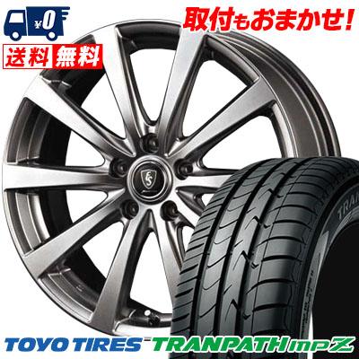 195/65R15 91H TOYO TIRES トーヨー タイヤ TRANPATH mpZ トランパスmpZ Euro Speed G10 ユーロスピード G10 サマータイヤホイール4本セット