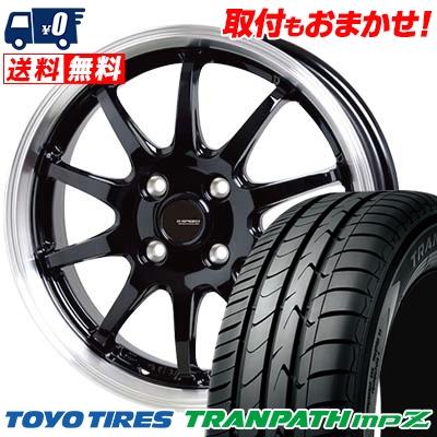 185/55R15 82V TOYO TIRES トーヨー タイヤ TRANPATH mpZ トランパス mpZ G.speed P-04 ジースピード P-04 サマータイヤホイール4本セット