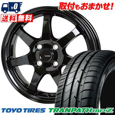 175/65R14 82H TOYO TIRES トーヨー タイヤ TRANPATH mpZ トランパス mpZ G.speed G-03 Gスピード G-03 サマータイヤホイール4本セット