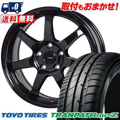 215/70R16 100H TOYO TIRES トーヨー タイヤ TRANPATH mpZ トランパス mpZ G.speed G-03 Gスピード G-03 サマータイヤホイール4本セット