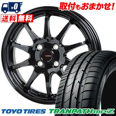 175/70R14 84H TOYO TIRES トーヨー タイヤ TRANPATH mpZ トランパス mpZ G.speed G-04 Gスピード G-04 サマータイヤホイール4本セット