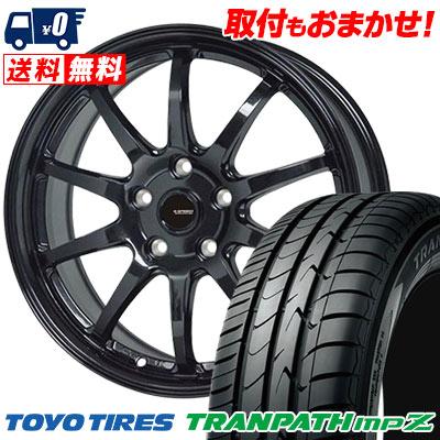 215/55R18 99V TOYO TIRES トーヨー タイヤ TRANPATH mpZ トランパス mpZ G.speed G-04 Gスピード G-04 サマータイヤホイール4本セット