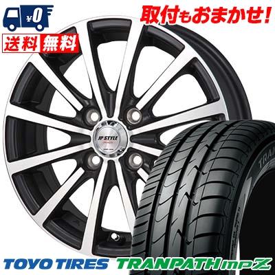 185/65R14 TOYO TIRES トーヨー タイヤ TRANPATH mpZ トランパス mpZ JP STYLE Shangly JPスタイル シャングリー サマータイヤホイール4本セット