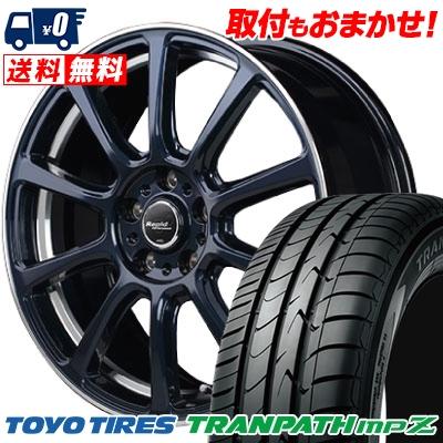 225/45R18 95W TOYO TIRES トーヨー タイヤ TRANPATH mpZ トランパス mpZ Rapid Performance ZX10 ラピッド パフォーマンス ZX10 サマータイヤホイール4本セット