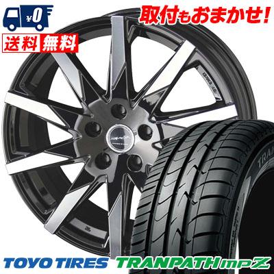205/60R16 92H TOYO TIRES トーヨー タイヤ TRANPATH mpZ トランパス mpZ SMACK SFIDA スマック スフィーダ サマータイヤホイール4本セット