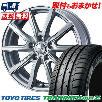 205/55R17 95V XL TOYO TIRES トーヨー タイヤ TRANPATH mpZ トランパス mpZ JOKER SHAKE ジョーカー シェイク サマータイヤホイール4本セット