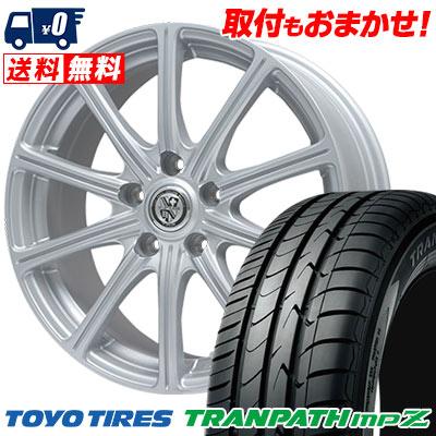 195/60R16 88H TOYO TIRES トーヨー タイヤ TRANPATH mpZ トランパス mpZ TRG-SS10 TRG SS10 サマータイヤホイール4本セット