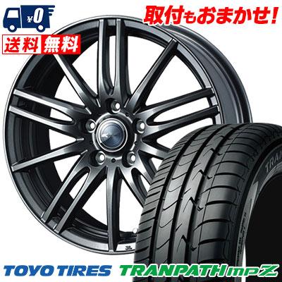 215/60R16 95H TOYO TIRES トーヨー タイヤ TRANPATH mpZ トランパス mpZ Zamik Tito ザミック ティート サマータイヤホイール4本セット