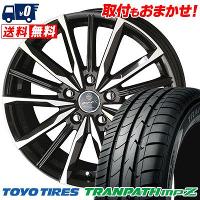 195/60R16 88H TOYO TIRES トーヨー タイヤ TRANPATH mpZ トランパス mpZ SMACK VALKYRIE スマック ヴァルキリー サマータイヤホイール4本セット