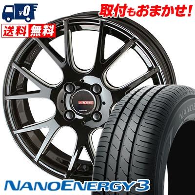 165/50R15 73V TOYO TIRES トーヨー タイヤ NANOENERGY3 ナノエナジー3 CIRCLAR RM-7 サーキュラー RM-7 サマータイヤホイール4本セット