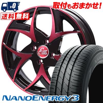 145/65R15 TOYO TIRES トーヨー タイヤ NANOENERGY3 ナノエナジー3 Cliff Climb TC-05 クリフクライム TC-05 サマータイヤホイール4本セット