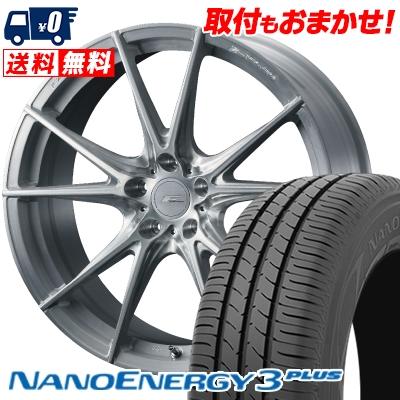 225/35R20 90W XL TOYO TIRES トーヨー タイヤ NANOENERGY3 PLUS ナノエナジー3 プラス WEDS F ZERO FZ-2 ウェッズ エフゼロ FZ-2 サマータイヤホイール4本セット