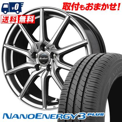 225/45R18 91W TOYO TIRES トーヨー タイヤ NANOENERGY3 PLUS ナノエナジー3 プラス EuroSpeed G810 ユーロスピード G810 サマータイヤホイール4本セット