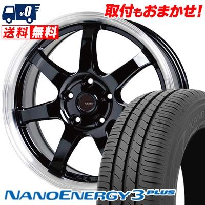 205/65R15 94H TOYO TIRES トーヨー タイヤ NANOENERGY3 PLUS ナノエナジー3 プラス G.speed P-03 ジースピード P-03 サマータイヤホイール4本セット