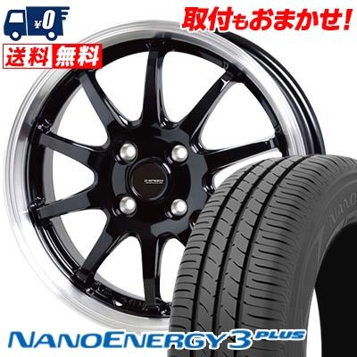 185/70R14 88S TOYO TIRES トーヨー タイヤ NANOENERGY3 PLUS ナノエナジー3 プラス G.speed P-04 ジースピード P-04 サマータイヤホイール4本セット
