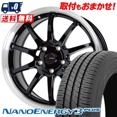 215/60R16 95H TOYO TIRES トーヨー タイヤ NANOENERGY3 PLUS ナノエナジー3 プラス G.speed P-04 ジースピード P-04 サマータイヤホイール4本セット