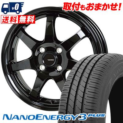 175/60R14 79H TOYO TIRES トーヨー タイヤ NANOENERGY3 PLUS ナノエナジー3 プラス G.speed G-03 Gスピード G-03 サマータイヤホイール4本セット